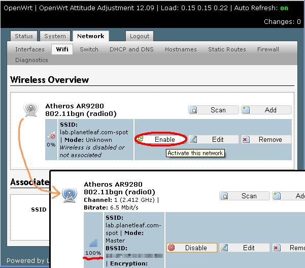 openwrt-enable-wifi