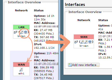 openwrt-interface-router-to-bridge