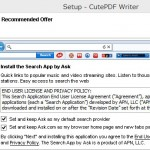 CutePDF ask tool bar