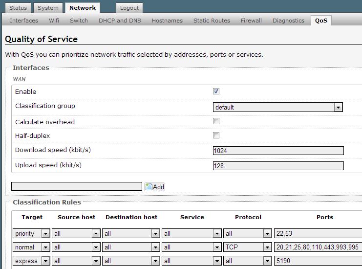 openwrt-qos-defaults